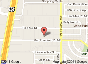 Google Map for Adeal Auto Repair in Albuqerque
